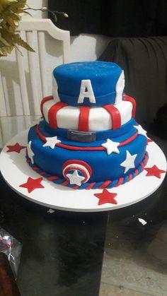 Bolo Capitão América
