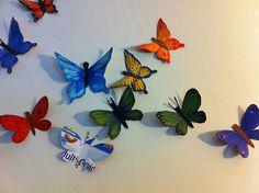 DIY Cereal Box Butterflies