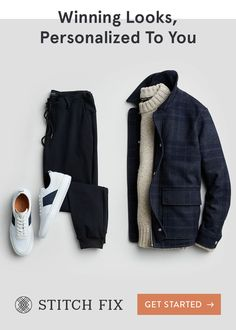 With Stitch Fix, we pair you with a Personal Stylist, who hand-selects clothing and accessories to match your taste, size and price range. What's even better? There's never any commitment—this is fashion on your terms. Try on pieces at home and keep your Casual Outfits, Men Casual, Fashion Outfits, Fashion Apps, Fashion 2017, Fashion Clothes, Summer Outfits, Ropa Semi Formal, Mature Mens Fashion