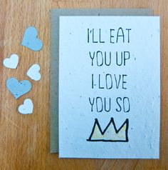 Plantable Seed Paper Wedding Valentine by jojobeandesigns on Etsy
