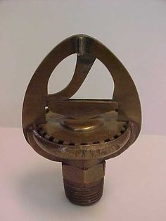 Grinnell fire sprinkler circa 1886