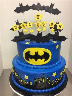 Boy Birthday Cakes Superhero Logos Character Boys Desserts