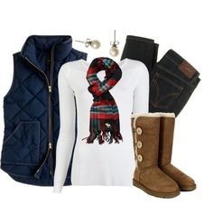 Cute winter style. I see someone wearing that in a cabin in the snowy mountains