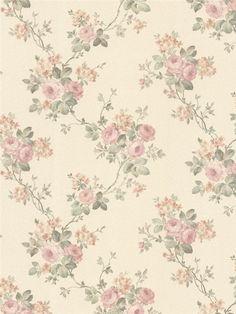 992-68369 - Wallpaper | Vintage Rose | AmericanBlinds.com