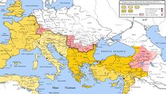 English: Roman World at the time of Constantinus the Great