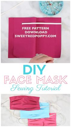 Diy Mask Discover DIY Surgical Face Mask for Hospitals Learn How to Easily Sew a Surgical Face Mask With This Step-By-Step Tutorial With Video Sewing Blogs, Sewing Hacks, Sewing Tutorials, Sewing Crafts, Sewing Tips, Sewing Ideas For Beginners, Fabric Crafts, Sewing Lessons, Dress Tutorials