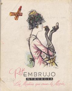 """""""Rojo Embrujo"""" 1960 Mirurgia. España.  Spain."""