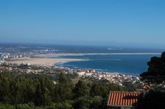 Um dos vários pontos altos a caminho dos diversos miradouros da Serra da Boa Viagem , Figueira da Foz, Portugal.