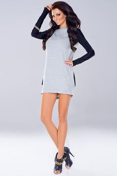 Cotton 52 % Spandex 12 % Polamid 19 % Polyester 17 % Size Hips Chest Waist L/XL cm cm cm S/M cm cm cm Lingerie, Wholesale Clothing, Fashion Accessories, High Neck Dress, Feminine, Vogue, Dresses For Work, Spandex, Grey