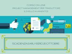 Corso on line: Project management per traduttori (livello avanzato) - Early bird in scadenza
