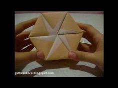 Origami - Caixa Hexagonal Modular - parte 1