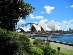 View from Sydney's Royal Botanical Gardens - Things to do in Sydney: http://www.ytravelblog.com/things-to-do-in-sydney-2/