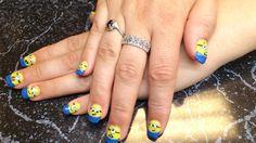 minions! Pandora Charms, Minions, Nail Art, Nails, Bracelets, Jewelry, Bangles, Jewellery Making, The Minions
