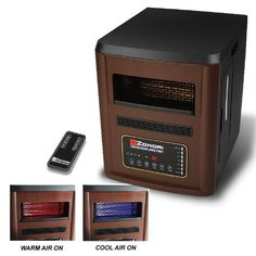 All Season 1500W Quartz Infrared Heater Humidifier Plasma Inverter Air Purifier Cool/Warm Cherry by All Season. $122.95. Energy saving unit (Save money on electric bills), Keeping your room in a warm, clean and perfect humidity environment.. Color: Cherry, 4 in 1 function (can be use as a heater, HEPA plasma purifier, sterilization, & humidifier. Unique combination, state of the art latest infrared heating technology, Highly effective HEPA + plasma air purification....