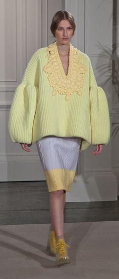 Xiao Li H&M Design Award finalist Knitwear Fashion, Knit Fashion, I Love Fashion, High Fashion, Womens Fashion, Fashion Design, Xiao Li, Cool Sweaters, Textile Design