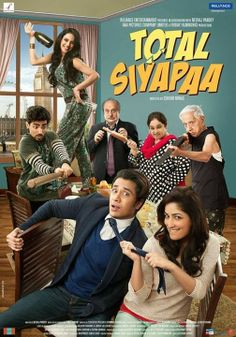 Total Siyapaa Hindi Movie Cast Crew Information Director Eeshwar Nivas Star Ali Zafar Yami Gautam Anupam Kher Genres Comedy Drama