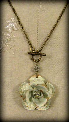 Bring me to life   Inspirational Jewelry  Shabby Chic