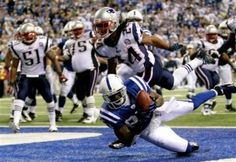 Reggie Wayne continues the NFL Touchdown Streak for the 'Canes