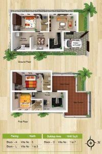 Vhridhaa Apartment Plan - Block P - Sree Daksha Property Developers Apartment Plans, Apartment Design, Property Development, Built Environment, Luxury Apartments, Luxury Villa, Ground Floor, Floating Shelves, Floor Plans