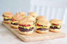Cheeseburger cupcakes recipe!