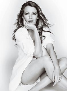 Blake Lively in Allure magazine May 2015