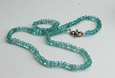 Aquamarine Necklace www.kimberlyhahnstreasures.com