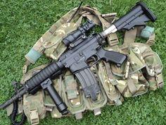 l119a1 cqb carbine - Google Search
