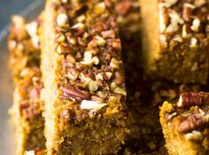 Pumpkin Protein Bars | 17 DIY Versions Of Your Favorite Protein Bars