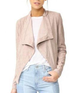 nanette drape front jacket by BB Dakota. A polished BB Dakota jacket with oversized lapels. Suede Jacket, Vest Jacket, Bb Dakota Jacket, Drape Front Jacket, Beach Wear, Sweater Shirt, Spring Outfits, Ideias Fashion, Dresser