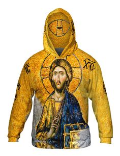 Christian Orthodox Jesus Gold Hagia Sophia