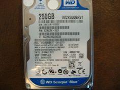 WESTERN DIGITAL WD2500BEVT-24A23T0 DCM:HHMTJAK SATA 250GB - Effective Electronics