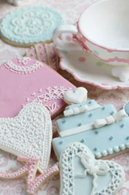 icing decoration cookie