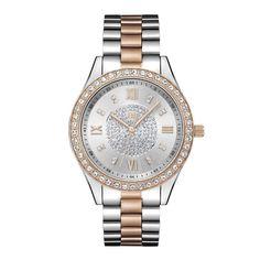 JBW Women's J6303D Mondrian 0.16 ctw Stainless Steel Diamond Watch