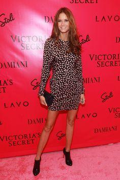 Flávia de Oliveira - Victoria's Secret Fashion Show 2010 Afterparty
