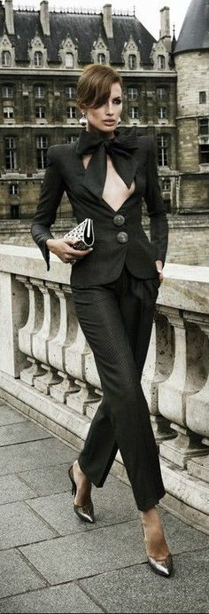 Class never goes out of style. / Armani