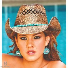 Bullhide Year of Summer Raffia Straw Cowgirl Hat, Natural Cute Cowgirl Outfits, Cowgirl Look, Cowboy Girl, Cowgirl Hats, Cowboy Boots, Western Chic, Western Hats, Western Wear For Women, Hats For Women