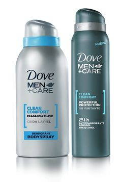 Bold shape and look for Dove's Men +Care line