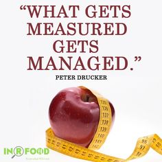 When you know what you're eating, it's easy to make sure it's #healthy! #Measured #Managed #INRFOOD
