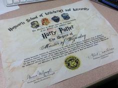 Diploma.