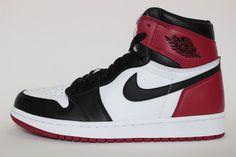 The Air Jordan 1 High Black Toe is showcased in more imagery. Look for the sneaker at select Jordan Brand stores starting November Michael Jordan, Jordan 1, Black Toe, Newest Jordans, Nike Air Force, Reebok, High Tops, Air Jordans, Footwear