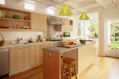 9 Vibrant Tips AND Tricks: Kitchen Remodel On A Budget Dark kitchen remodel floor plans.Open Kitchen Remodel Floors small kitchen remodel no window. Open Kitchen Cabinets, Condo Kitchen Remodel, Maple Cabinets, New Kitchen, Maple Kitchen, Kitchen Modern, Kitchen Sink, Kitchen Remodeling, 1960s Kitchen