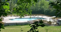 Camping Les Ormes swimming pool