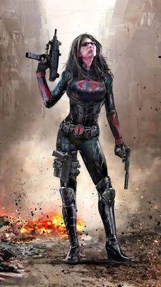 (Futuristic Superwoman Idea) Linda Baroness by uncannyknack on DeviantArt Thundercats, Caricatures, Heroine Marvel, Baroness Gi Joe, Marvel Dc, Marvel Comics, Chica Fantasy, Cobra Commander, Gi Joe Cobra