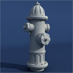 Model a Detailed High Poly Fire Hydrant in 3ds Max