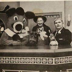 Dancing Bear, Mr. Moose, Mr. Green Jeans, Bunny & Captain Kangaroo