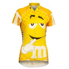 Very funny and noticeable M&MS jersey. Skin friendly and highly performing without compromising on a. Women's Cycling Jersey, Cycling Gear, Cycling Outfit, Cycling Equipment, Unique Cycling Jerseys, Mtb Bicycle, Cool Bike Accessories, Fitness Studio, Sport Bikes