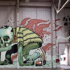 Aryz. Fantasy on a wall. « streetaporter