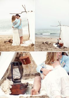 @Danielle Tamburilla  Gah! Find me another beach couple about to get married... what a fantastic photoshoot and video this could be