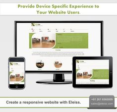 Create a #responsive #website with #Eleiss.