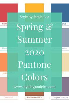 Winter Wardrobe Essentials, Wardrobe Basics, Summer Wardrobe, Spring Summer Trends, Spring Fashion Trends, Summer Vacation Outfits, Season Colors, Pantone Color, Summer Colors